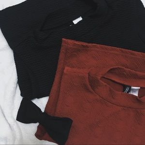 Crop tops from H&M.